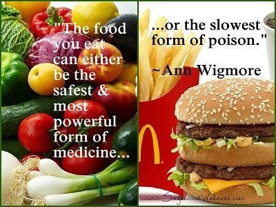 vegies or hamburgers