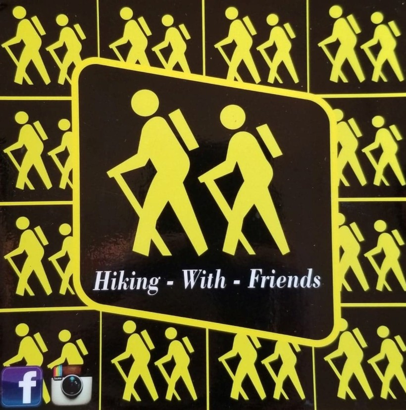 hiking with friends logo